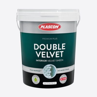 Plascon double velvet paint 20L