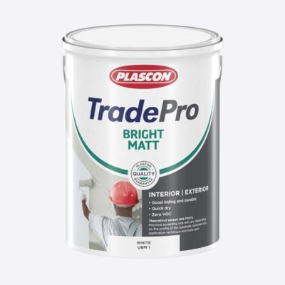 Plascon tradepro bright matt paint