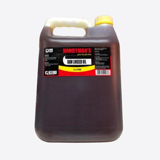 Handyman's Raw Linseed Oil 5L