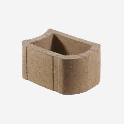 RETAINER WALL BLOCK - S12 - SANDSTONE