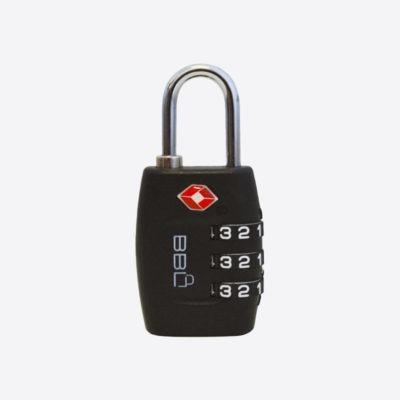 BBL BBL TSA Travel Combination Padlock BBP830-TSA