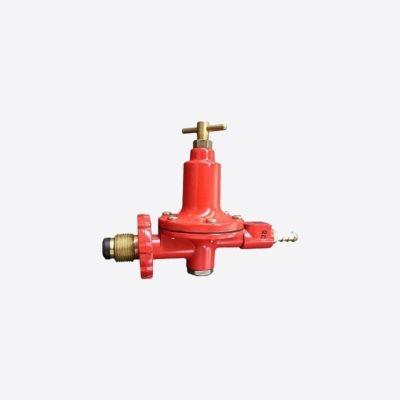 Safegas Red High Pressure Regulator 0-200 KPa