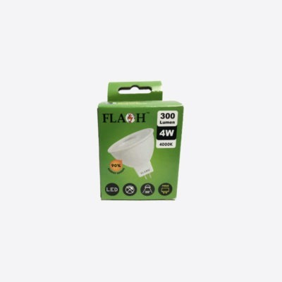 Flash MR16 LED Lamp Non-Dimmable (Two Colours)