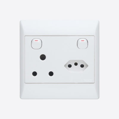product or component type Socket-outlet with switch
