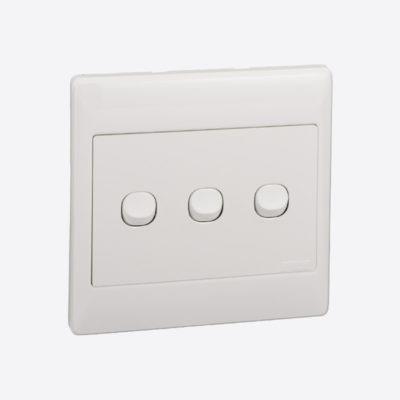 Schneider Wall Switch ZZA_ST2033/1/2AWE White
