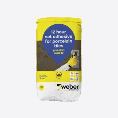Weber.set Porcelain Rapid 12 20kg