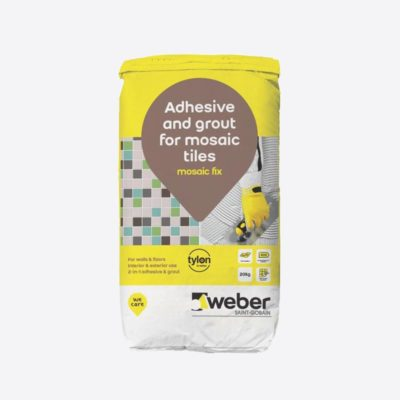 Weber.set Mosaic Fix (20kg, 5kg)